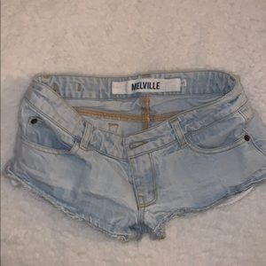 Brandy Melville Discontinued Jean Shorts Size: S